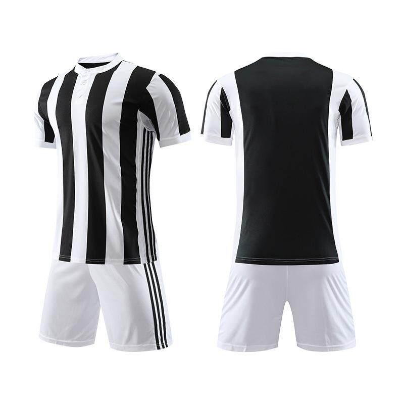 Menyesuaikan Merek Pria Pakaian Sepakbola Tim Sepak Bola Pelatihan Sport Kemeja Celana Pendek Seragam Seragam