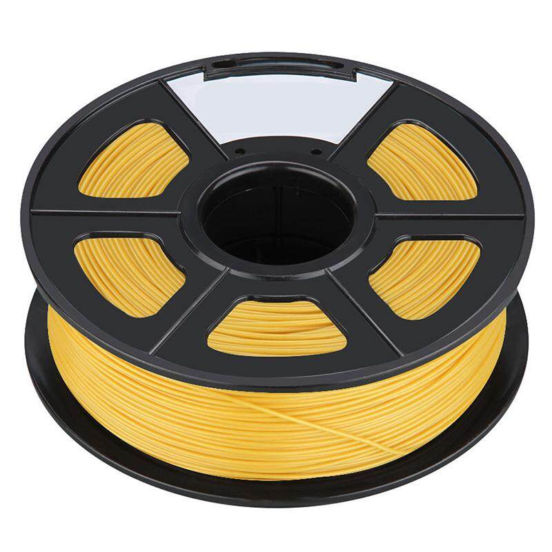 Professional Filament 3D Printing Materials Spool of 3D Filament ABS 1Kg With NO Air Bubbles for RepRap MakerBot Ultimaker etc (3.00mm, Golden Yellow)