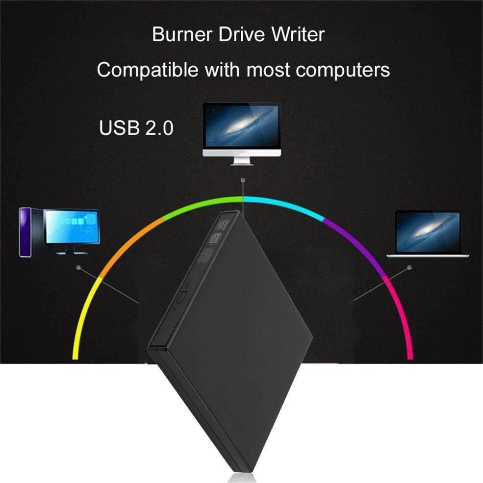 QNSTAR USB 2.0 External CD±RW DVD±RW DVD-RAM Burner Drive Writer For Laptop PC