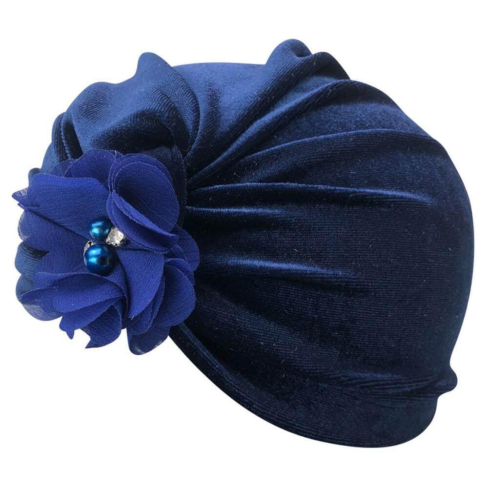 63c5f9a1c31 1Pc Newborn Toddler Kids Baby Boy Girl Flower Turban Beanie Hat Headwear Hat