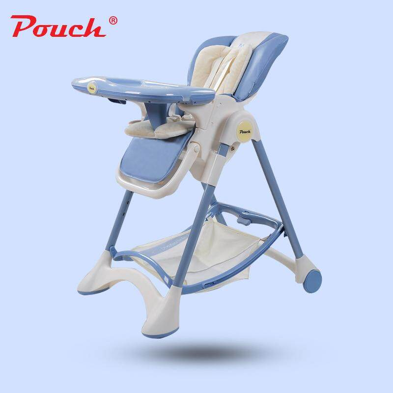 welovestore Pouch portable foldable multi-functional baby stool dining chair - intl