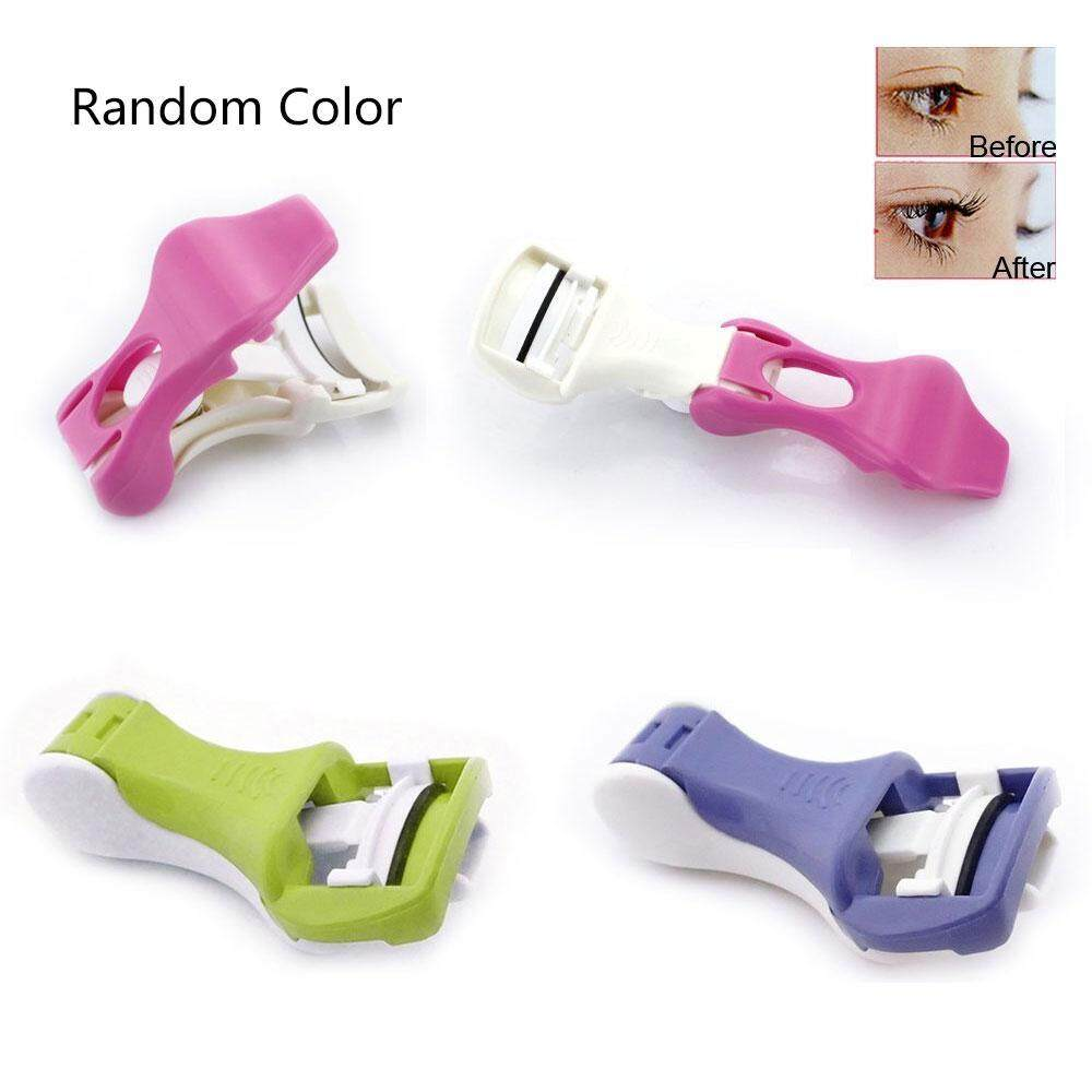 Fortunet New Comfort Eyelash Eye Lashes Curler Curling Tool Manual Clip Flexible - intl Philippines