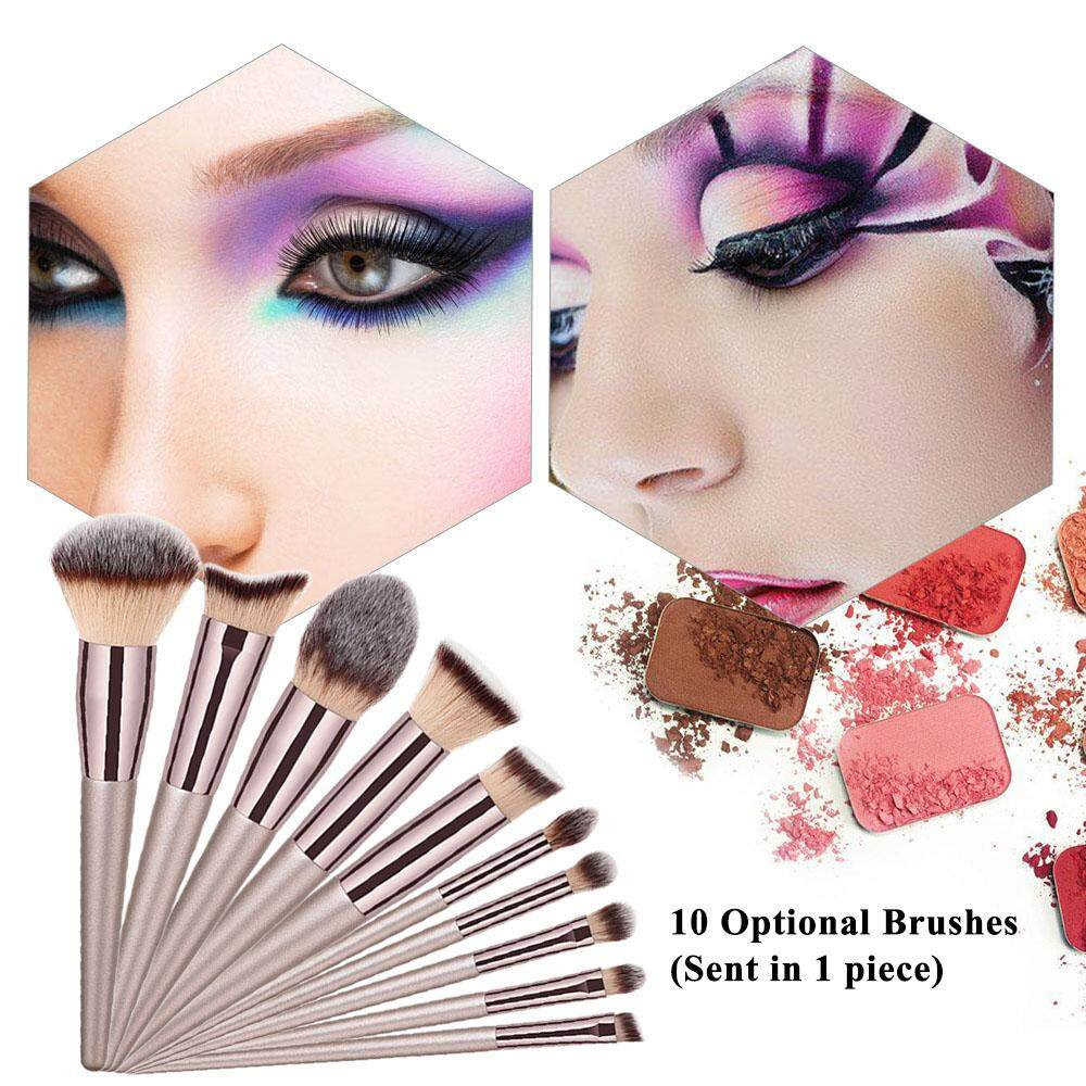 (Free Shipping Fee)GULHUI Proofessional Makeup Brush Facial Makeup Brush Cosmetic Brushes Multifunctional Eyebrow Blush Foundation Powder Brush Beauty Tools Philippines