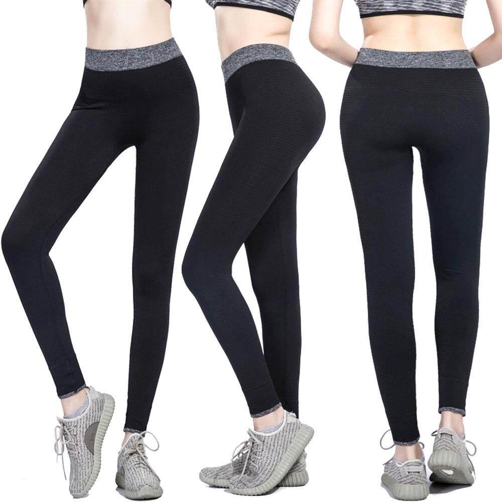 BAC Olahraga Yoga Perempuan Celana Celana Ketat Wanita Olahraga Elastis Lari Kebugaran Legging Ramping Celana Panjang-Intl