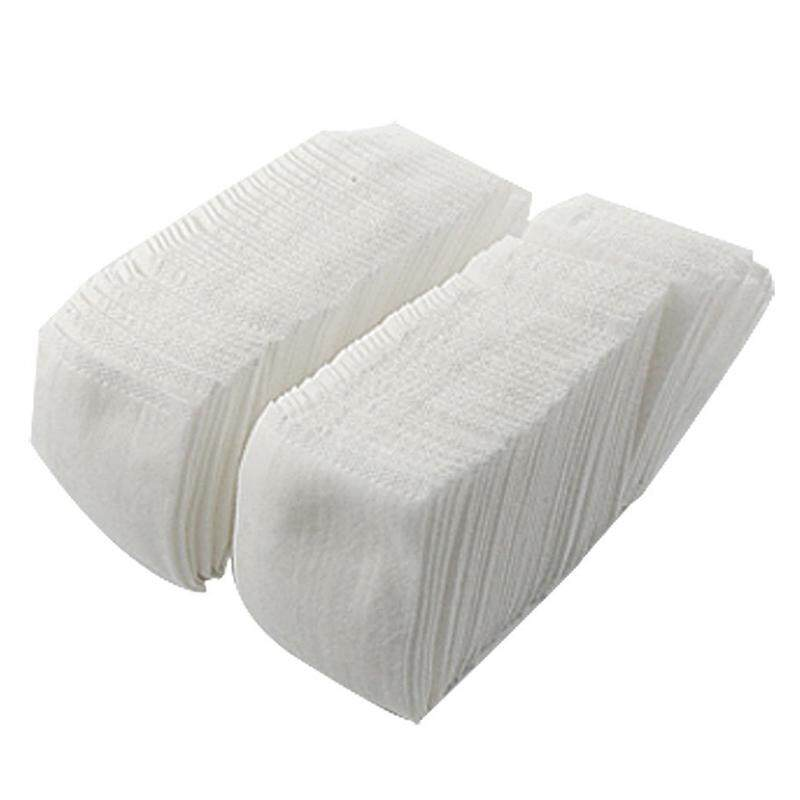 100 Pcs White Rectangle Facial Clean Bag Type Cotton Pads Philippines
