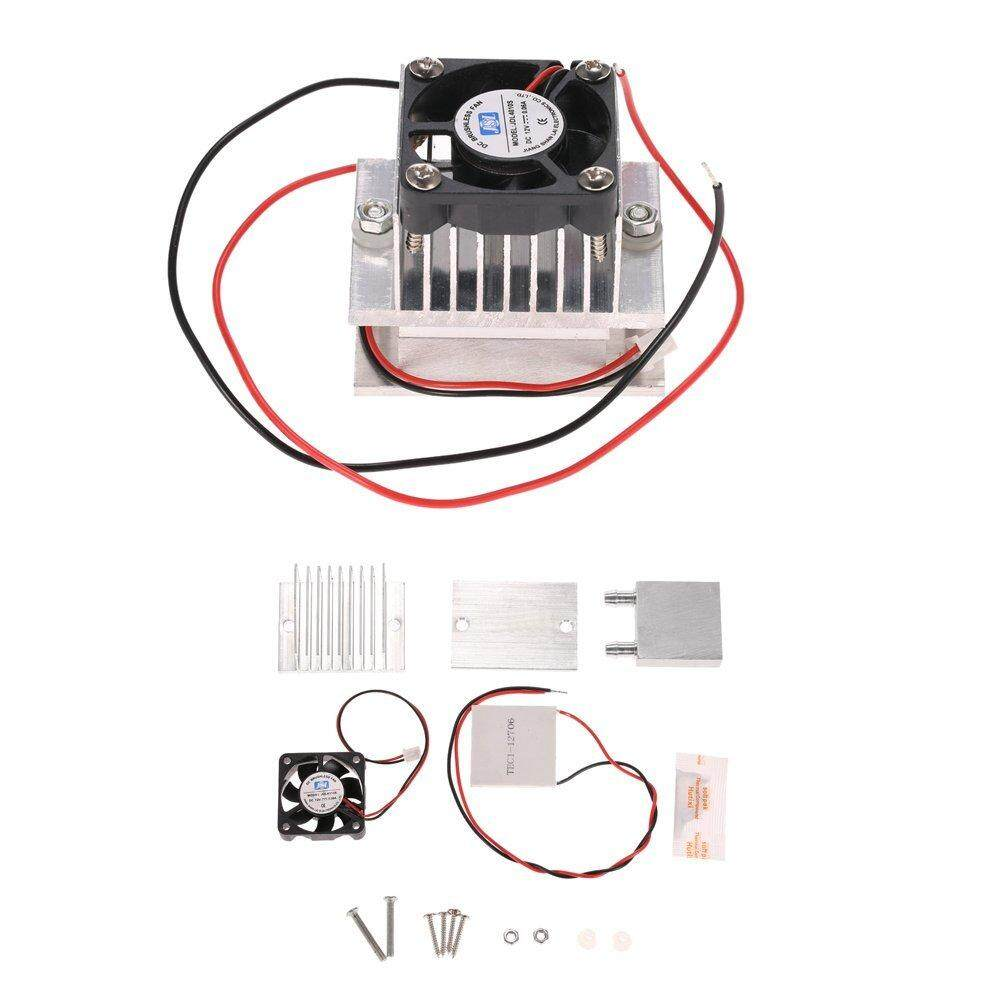 Burstore Easy to Install TEC1-12706 Semiconductor Refrigeration Thermoelectric Peltier Air Cooling Dehumidification Cooler Equipment + Module Kit DIY Kit Malaysia