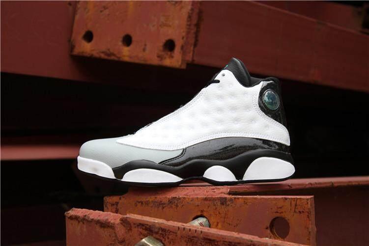 608955977306 Nike Official Michael Jordan 13 AJ White Black Men Basketaball Shoe Air  Jordan MJ Global Sales
