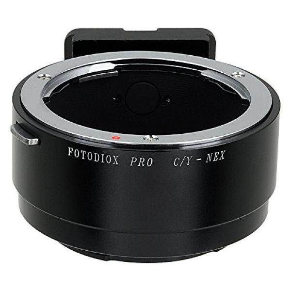 Fotodiox Pro Lens Mount Adapter - Contax/Yashica (CY) SLR Lens to Sony Alpha E-Mount Mirrorless Camera Body