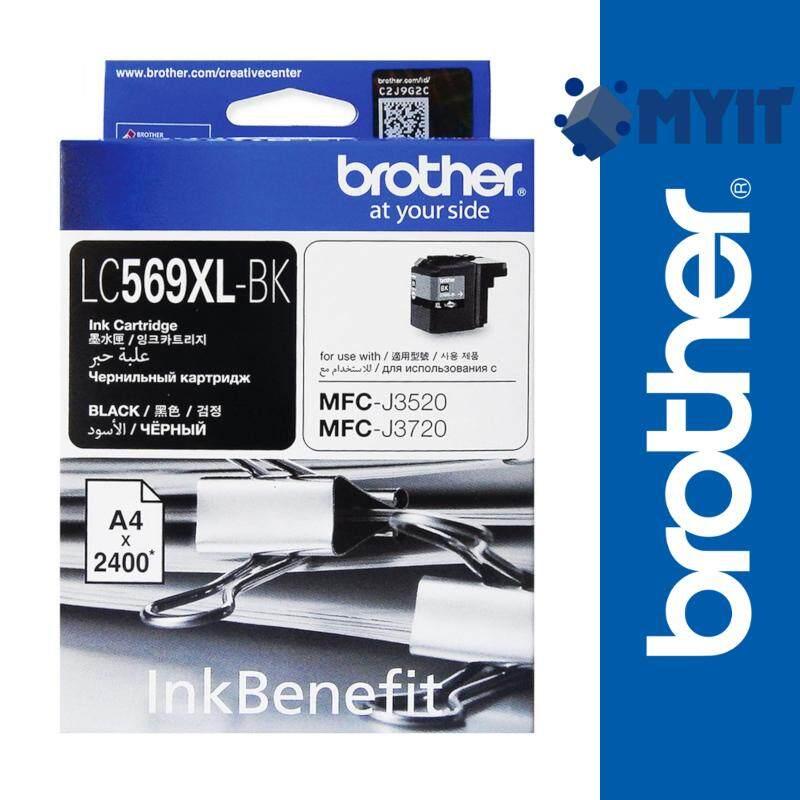 Brother Original LC-569XL Black Ink Cartridge for MFC-J3520 MFC-J3720 LC569XL 569XL