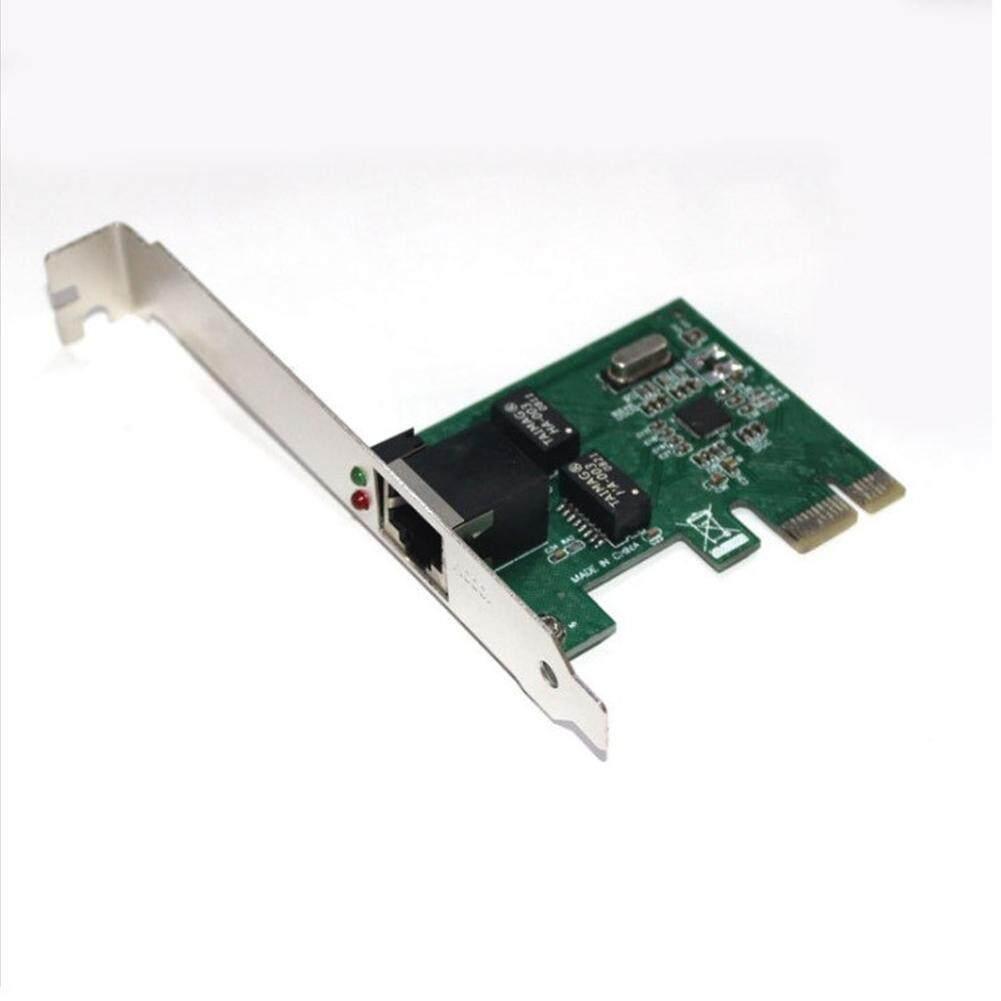 Dlong Gigabit Ethernet PCI-E Kartu Jaringan RJ-45 Adaptor LAN Converter Network Controller