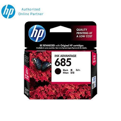 HP 685 Black Original Ink Advantage Cartridge CZ121AA
