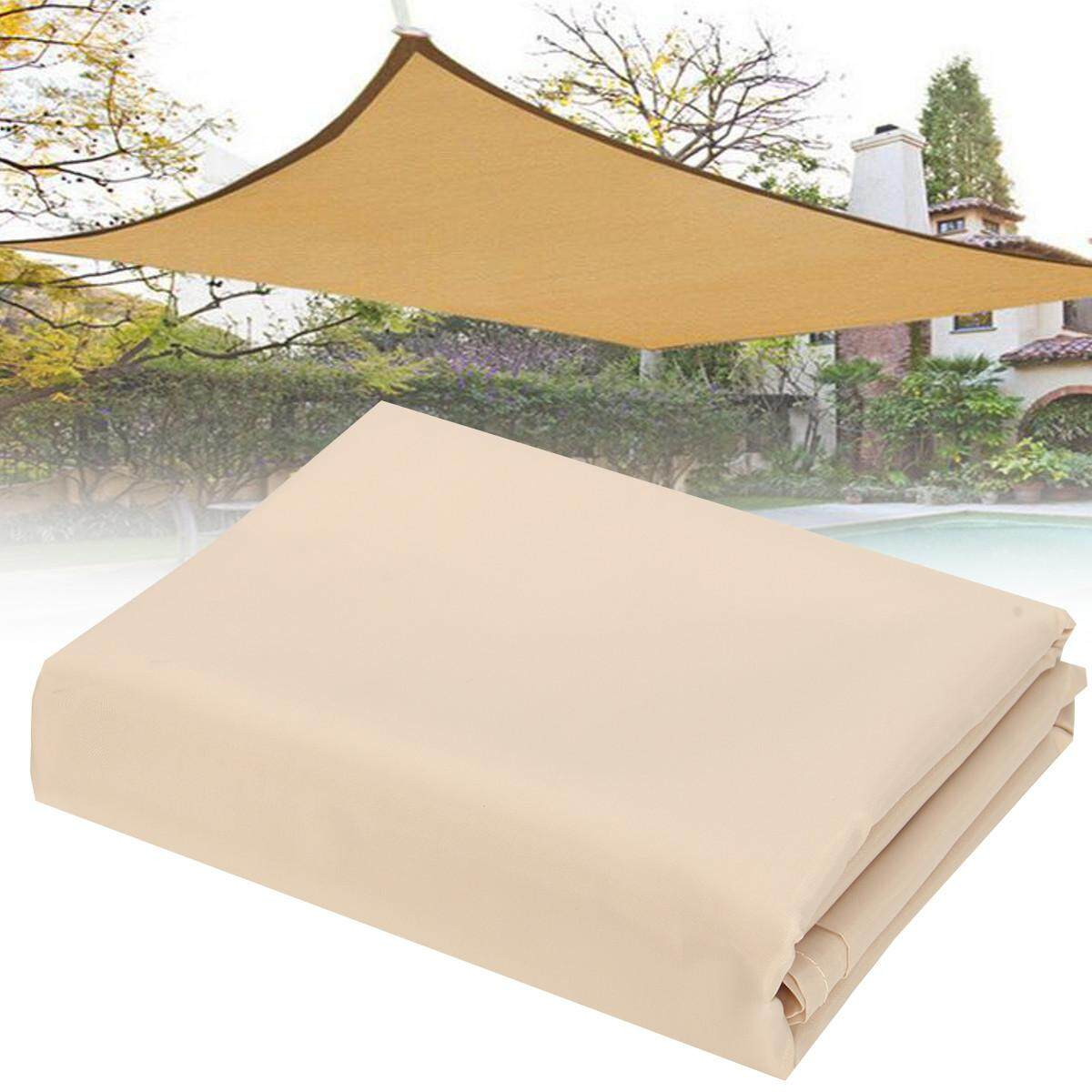 79x71 Sun Shade Sail Net Outdoor Garden Plant Cover Canopy Awning Size US