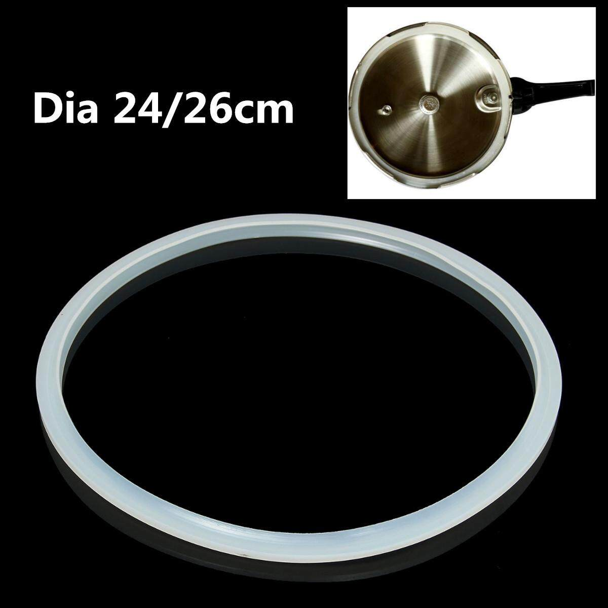 24cm Replacement Silicone Rubber Clear Gasket Sealing Ring Home Pressure Cooker - Intl By Audew.