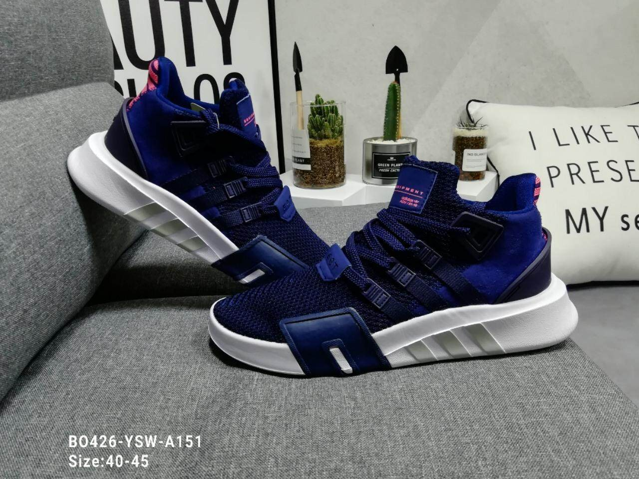 Adidas Shamrock EQT 2018 New Trend Mesh Sneakers Breathable f15fbd635
