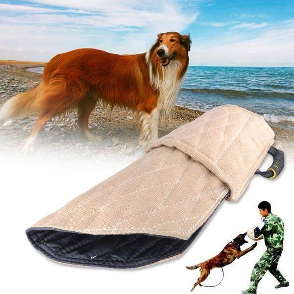 Huấn Luyện Chó Bite Tay Áo Bảo Vệ Cánh Tay Trung Gian Cảnh Sát Làm Việc Chó Nhỏ