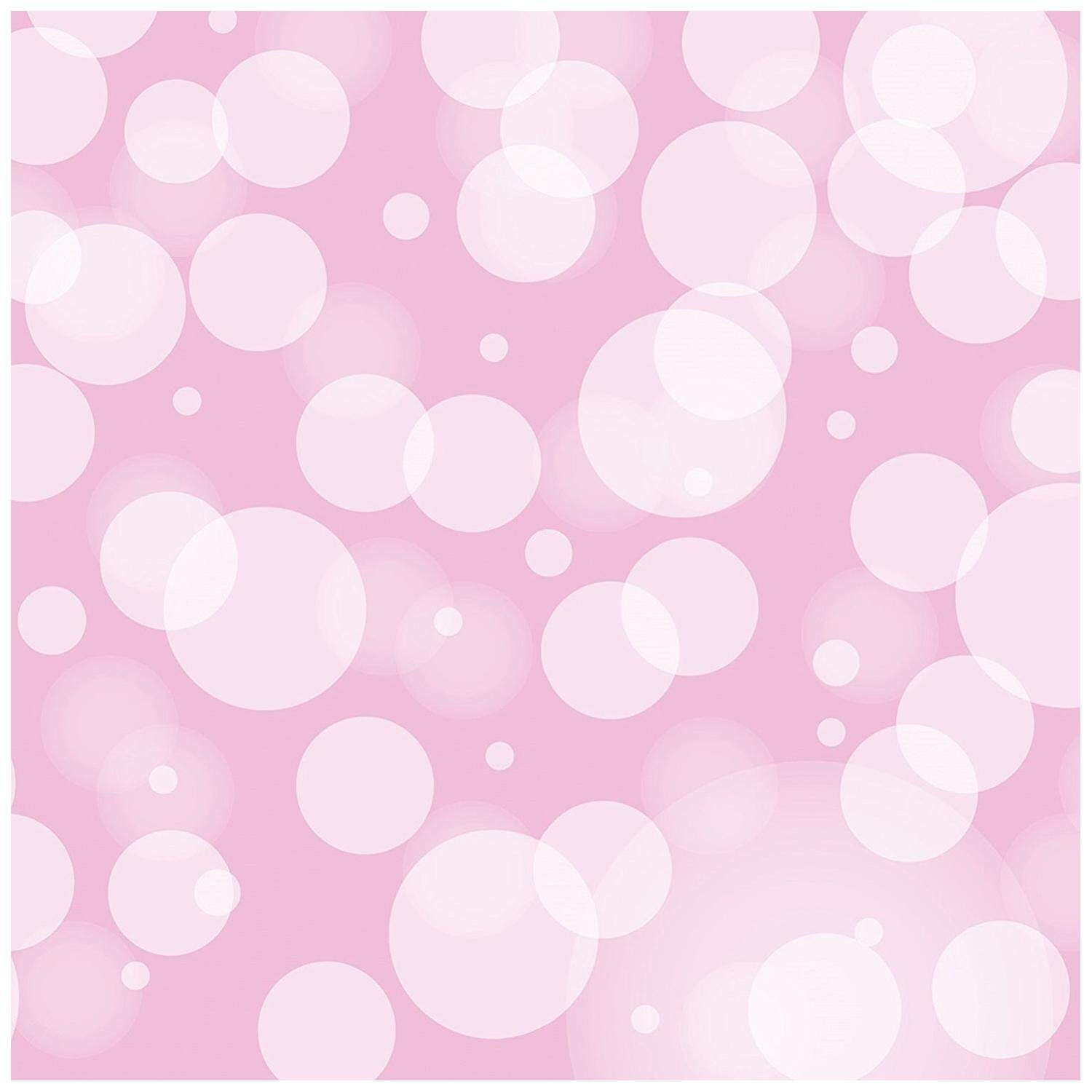 3x5ft Heavy-Duty Photography Vinyl Backdrop Background Bokeh Baby Pink