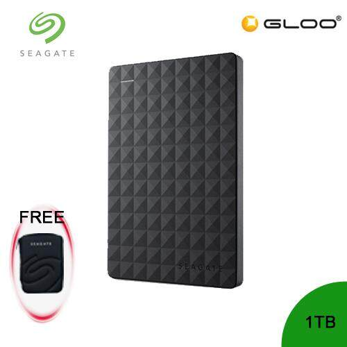 Seagate Expansion Portable Disk - 1TB STEA1000400 [FREE Pouch Casing]