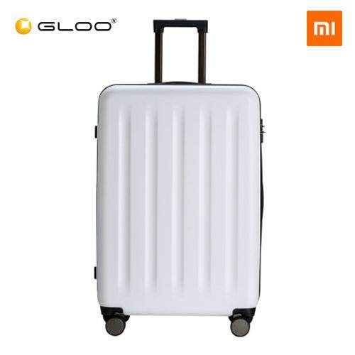 "Mi Trolley 90 Points Suitcase 20"" 3 Layer Shockproof Material (Grey / White)"