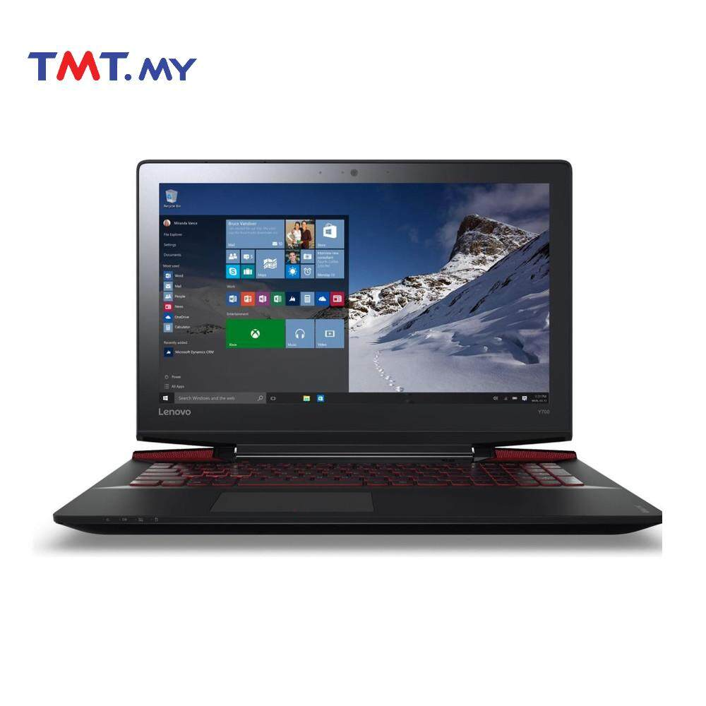 Lenovo IdeaPad Y700-15ISK 80NV00T5MJ Laptop | Core i7 | 4GB | 1TB | NVD GTX960M | 15.6 - Black Malaysia