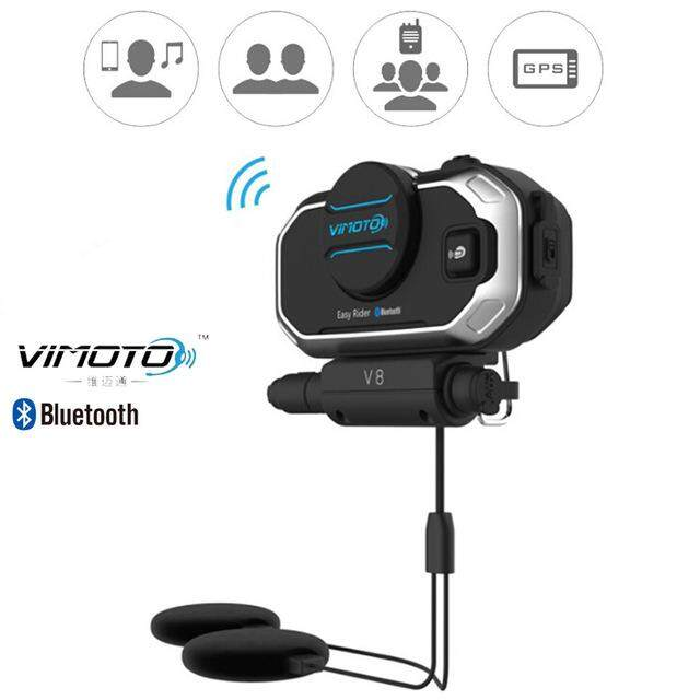 Review Vimoto V8 Motorcycle Helmet Bluetooth Headset