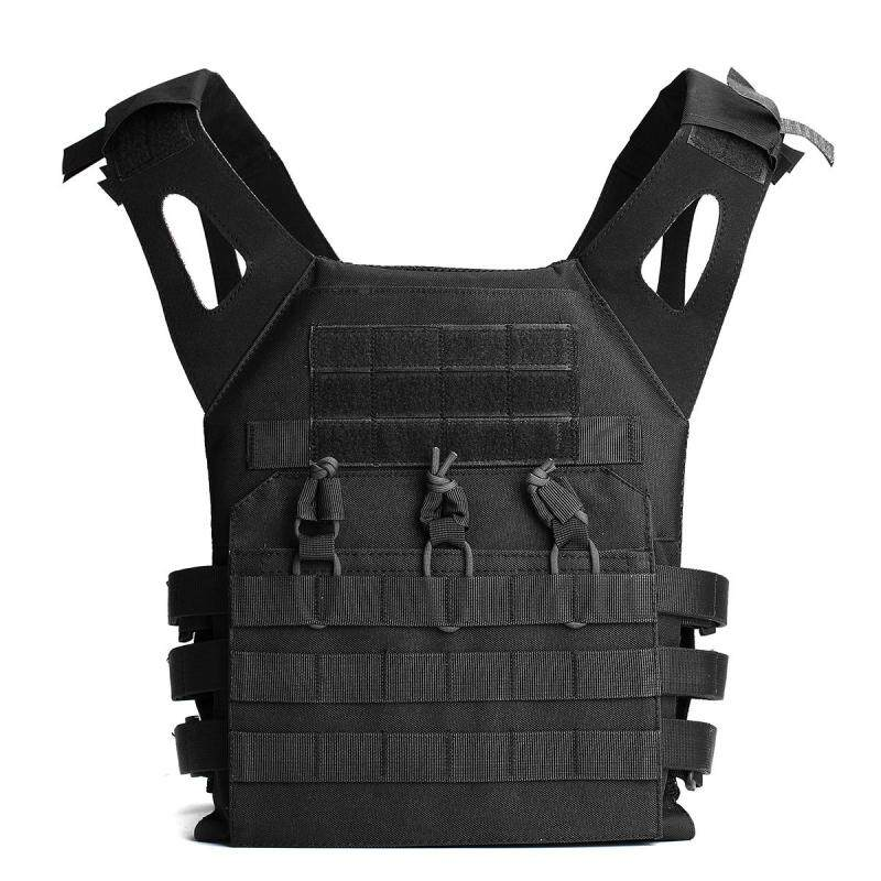 Tactical Lightweight MOLLE Army System Armor Carrier Plate Vest Pouches stock Black