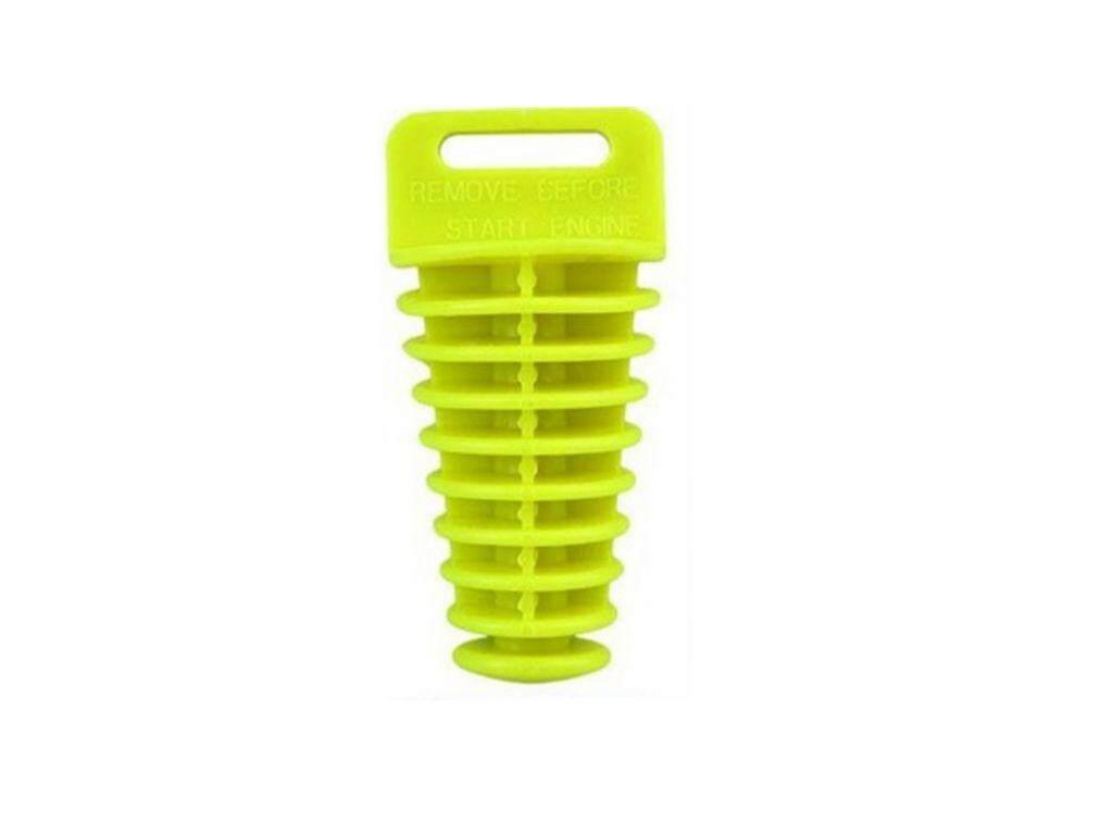Hiqueen Ukuran Besar Pipa Knalpot Stopper Karet untuk Cross-Country Motor Tahan Air Muffler Plug Warna: Neon Kuning