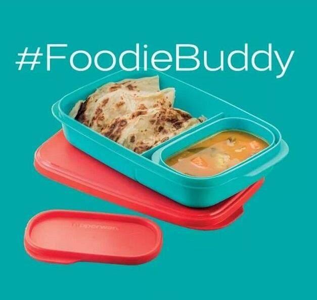 Tupperware FoodieBuddy (1) 560ml and (1) 120ml Set - Choose Color