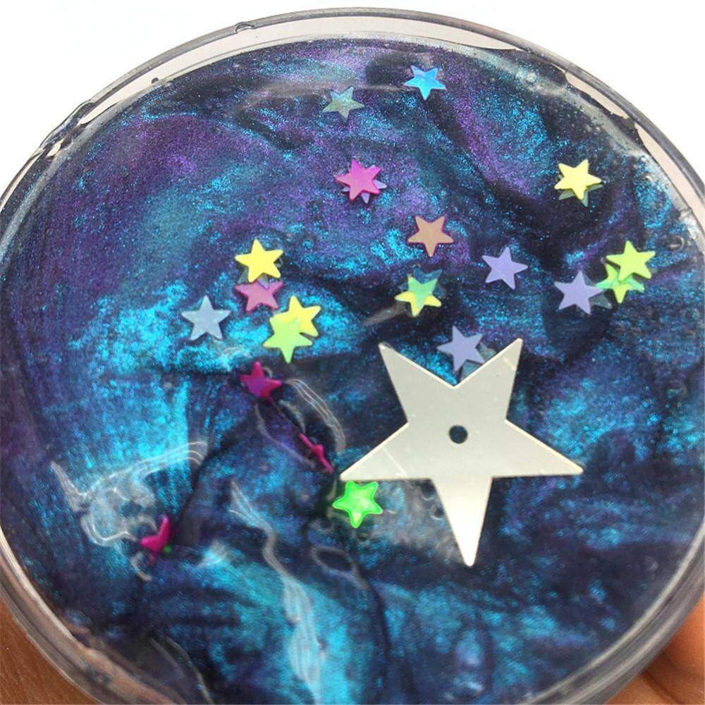 Galaxy Mixing Cloud Slime Putty Scented Stress Kids Crystal Clay Toy