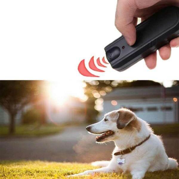 Vườn LED siêu âm động vật Repeller thiết bị huấn luyện chó Pet chống sủa dừng sủa huấn luyện viên-