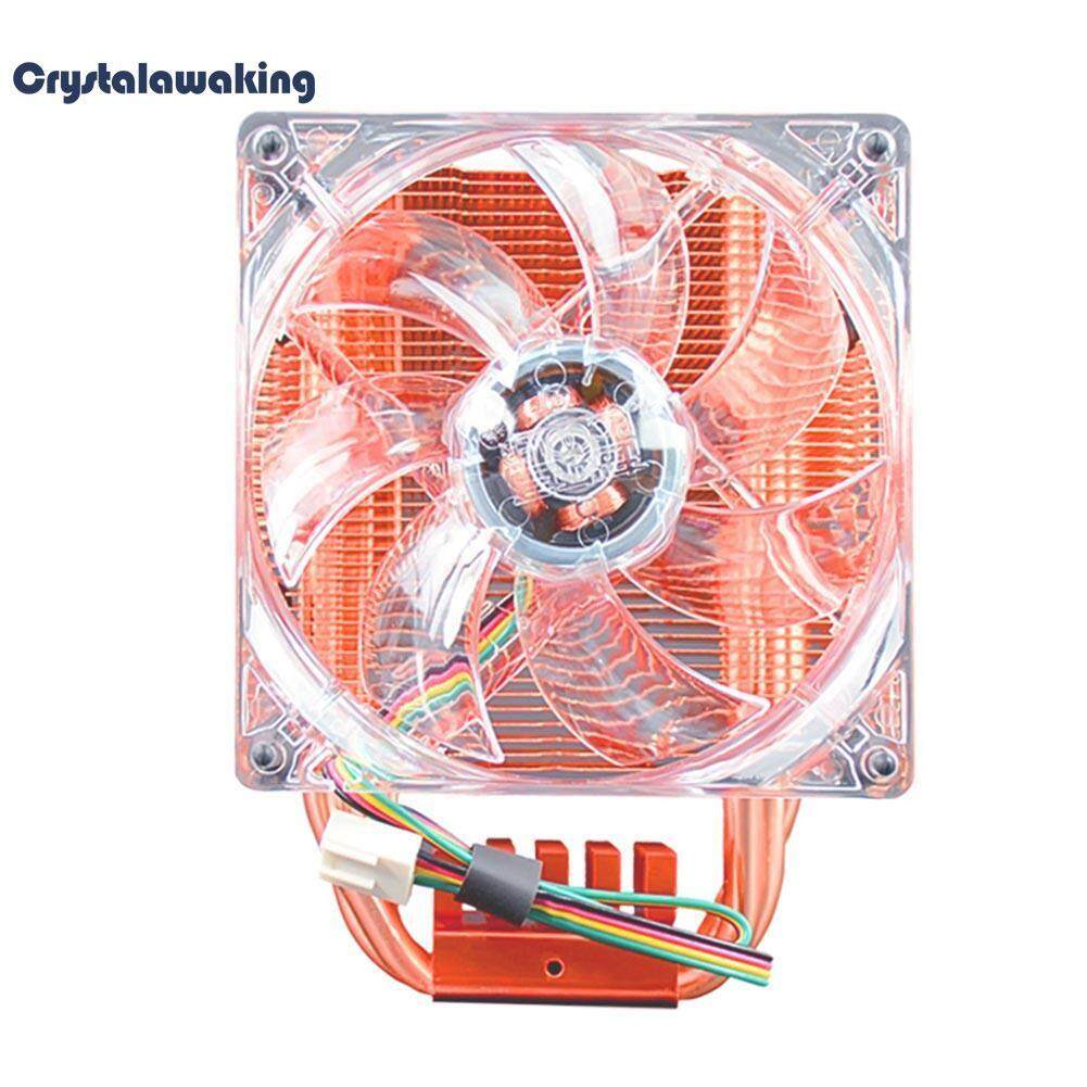 CPU Cooler Fan Fluid Bearing Copper 4 Pin Heatsink