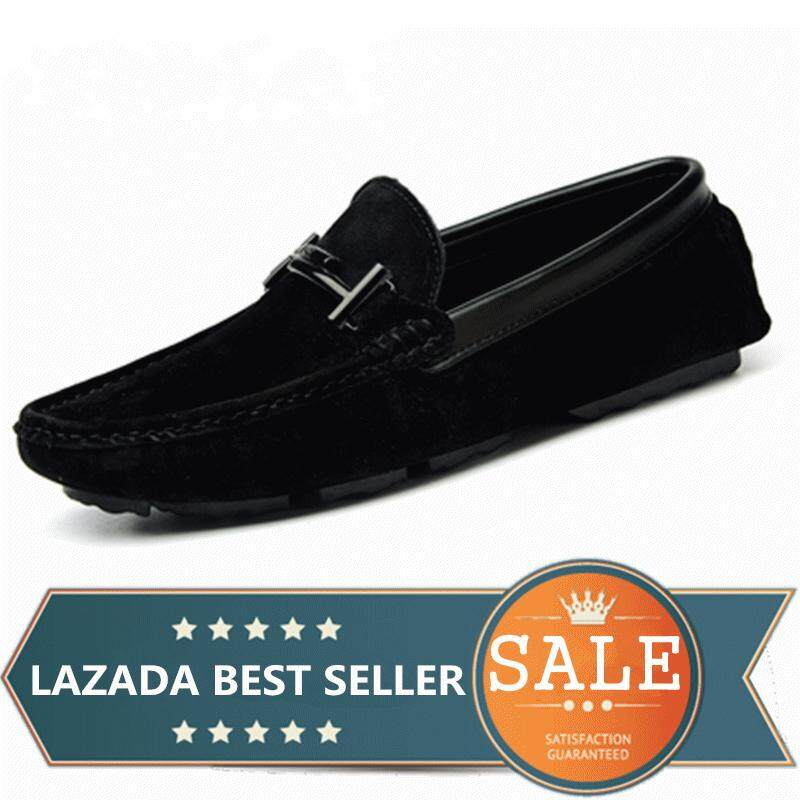 387204dd1d91 Large Size 37-45 Men Slip-Ons   Loafers Fashion Driving Shoes Boat Shoe
