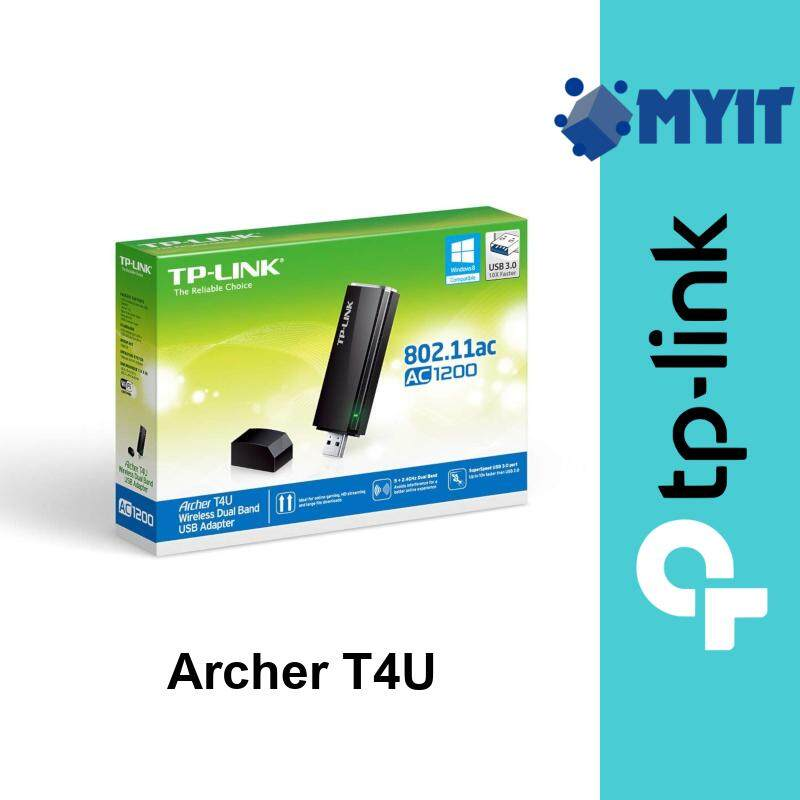 TP-Link Archer T4U AC1200 Wireless Dual Band USB 3.0 Adapter 1300Mbps Wifi MU-MIMO