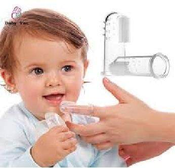 BABY FINGER TOOTHBRUSH TEETH CLEAN MASSAGER