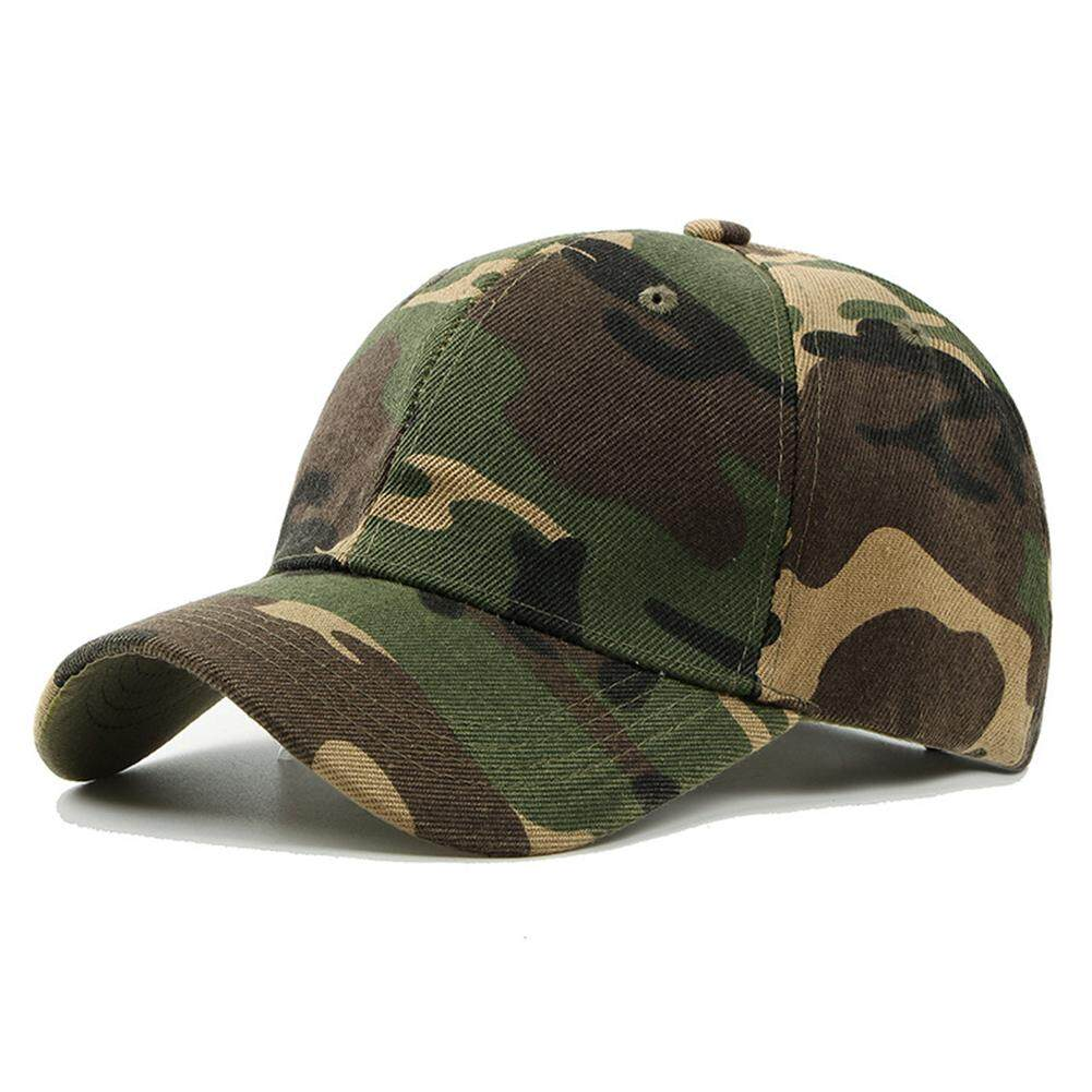 0eeb71606ef62 Men s Army Camouflage Camo Cap Climbing Hat Hunting Fishing Desert Hat