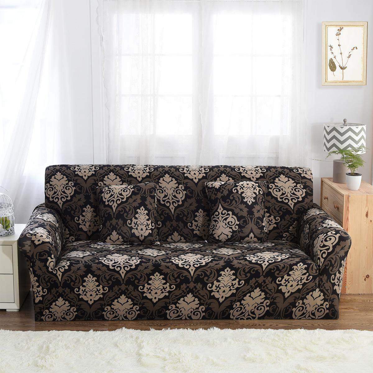 4 Seater Home Soft Elastic Sofa Cover Easy Stretch Slipcover Protector Couch