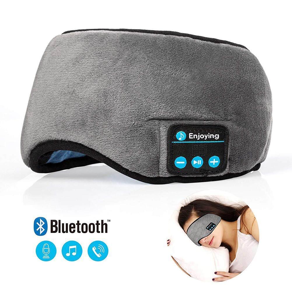Bảng giá WangWang Bluetooth Ngủ Mặt Nạ Mắt Tai Nghe Ngủ Du Lịch Tai Nghe Mặt Nạ Mắt Tay Nghe Nhạc Mắt Ngủ Sắc Thái Loa Tích Hợp Micro Phong Vũ