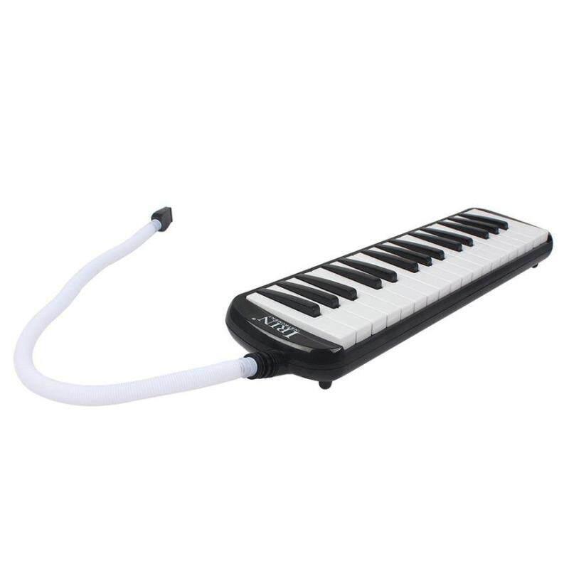 IRIN 32 Keys Melodica Students Musical Instrument Harmonica Mouth Organ black