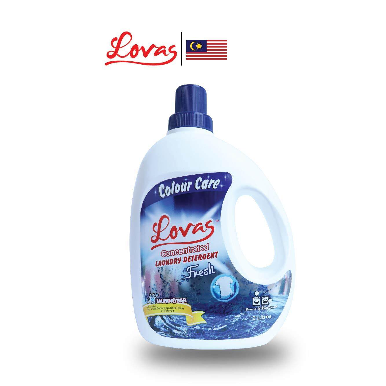 LOVAS Concentrated Laundry Detergent - 2L [Fresh]