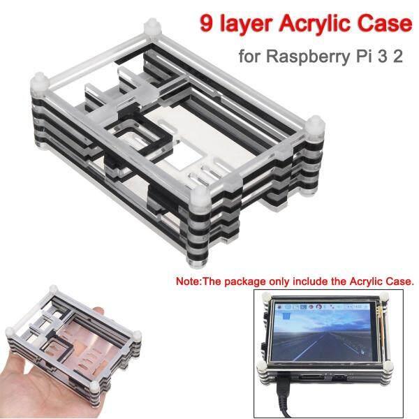 Bảng giá Vỏ 9 Lớp Acrylic Cho Raspberry Pi 3 2 Hỗ Trợ Màn Hình Cảm Ứng LCD 3.5 Inch- Phong Vũ