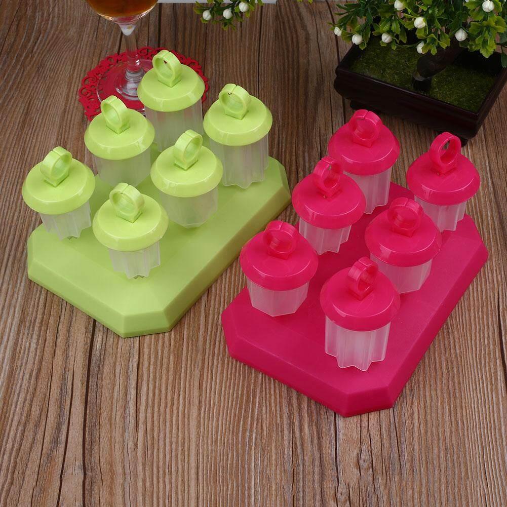 DIY Freezer Ice Cream Juice Yogurt Gel Maker Pop Mold Mould Popsicle Barware - intl