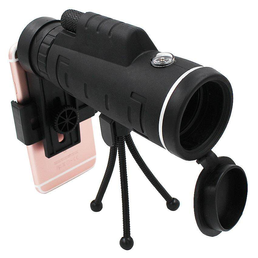 40X Zoom Monocular Mobile Phone Telescope lense 40x60 For Iphone Huawei Xiaomi Smartphones Camera lenses Outdoor Hunting