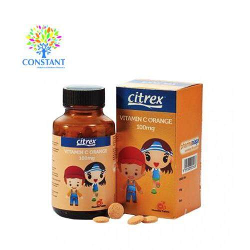 Citrex Vitamin C Orange 100mg 30's