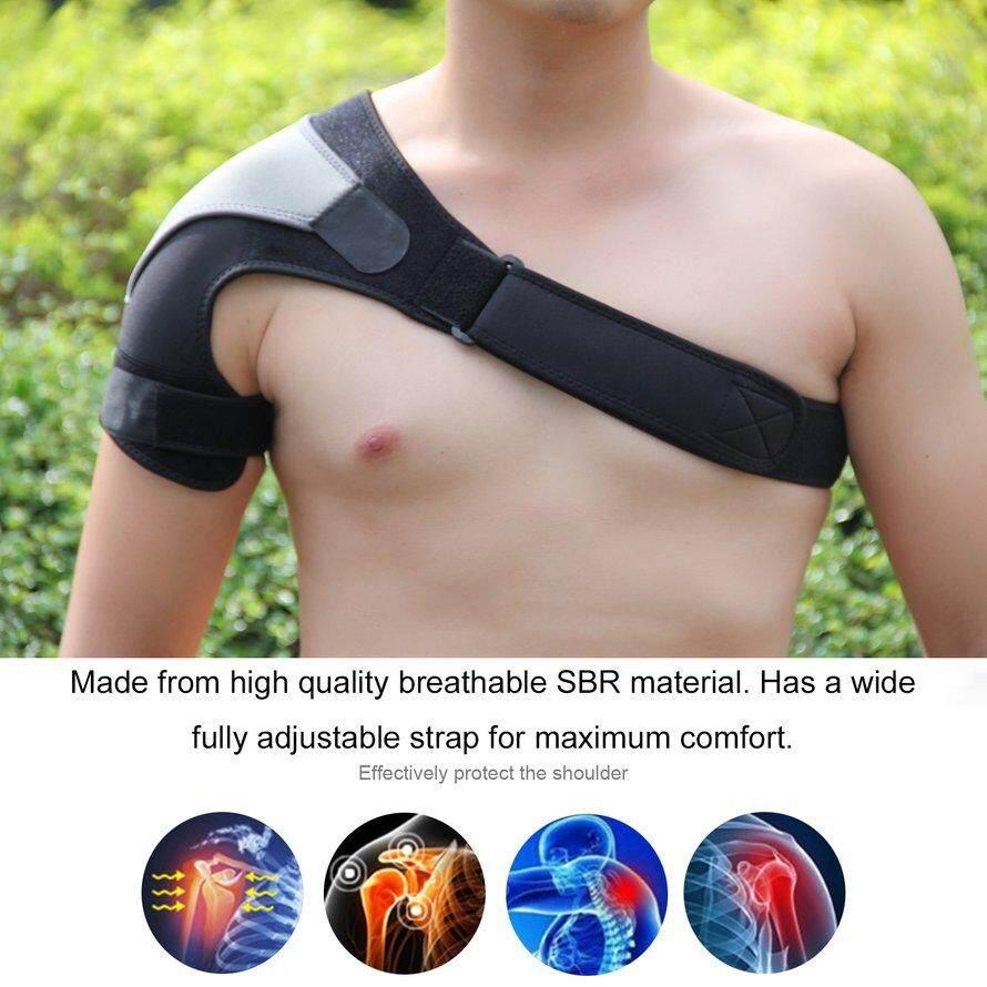 2016 Kualitas Terbaik Neoprene Penahan Rasa Sakit Cedera Dislokasi Artritis Magnetic Dukungan Tali Bahu (hitam)IDR115000. Rp 115.000