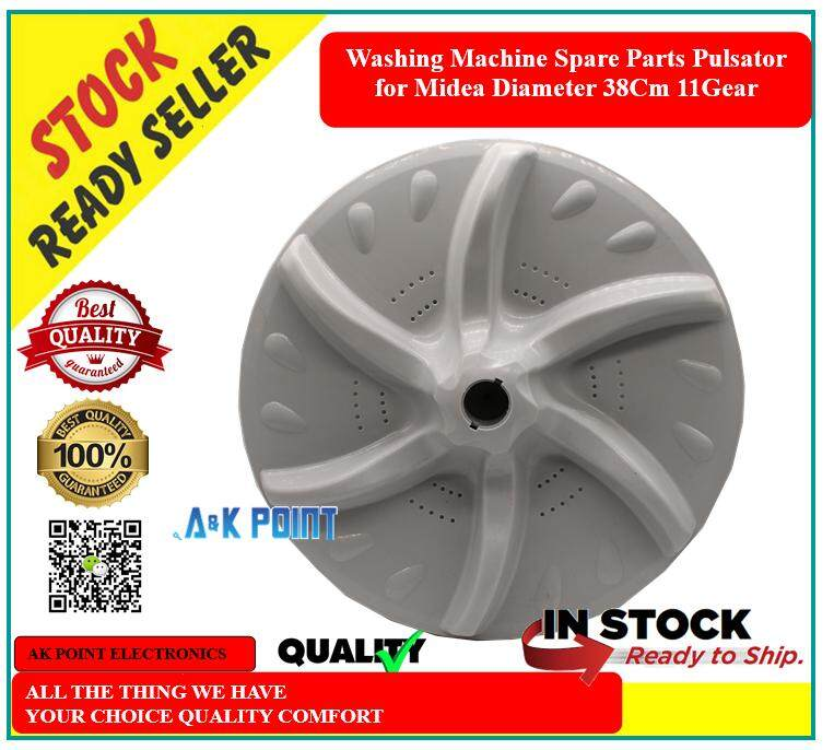 Washing Machine Spare Parts Pulsator for Midea Diameter 38Cm 11Gear