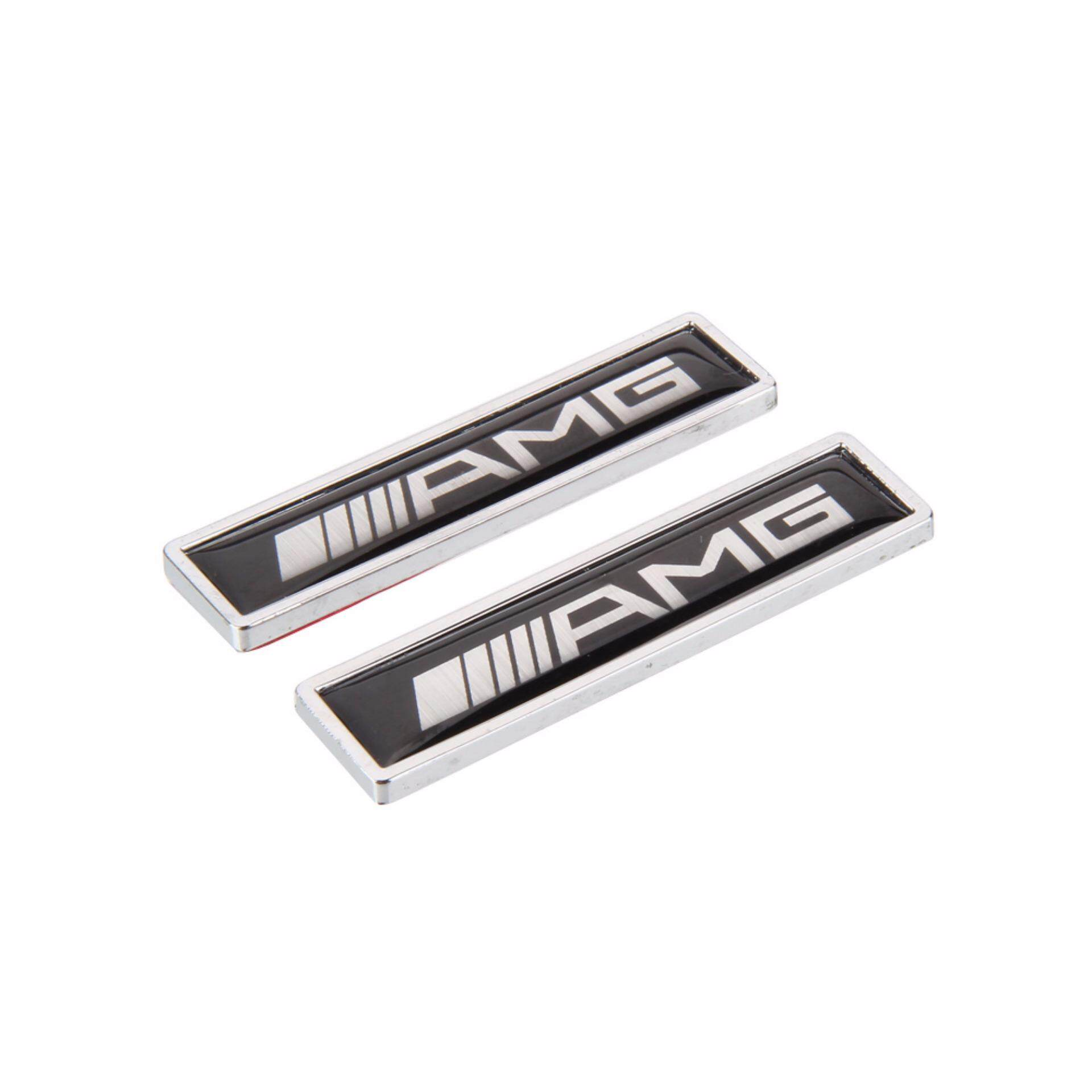 Features 1 Pair 3d Blade Styling Car Logo Stickers Auto Decoration Harga Wiring Harness W124 Metal Modification Sticker Decorative Emblem Badge Decal For Amg W204 W203 W211 W210