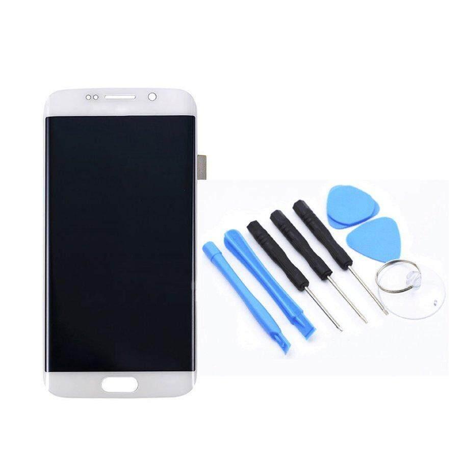 Coyen LCD G920F/G920A/V/T/P Layar Sentuh Pengganti Layar untuk Samsung Galaxy S6 Edge