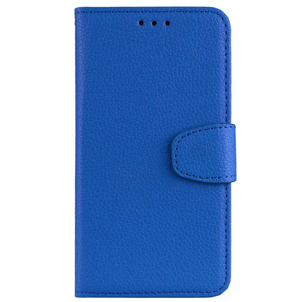 Moonmini Case untuk Samsung Galaksi S9 Plus Case Warna Murni Lichee Perlindungan Ponsel Sarung Dropproof Stand