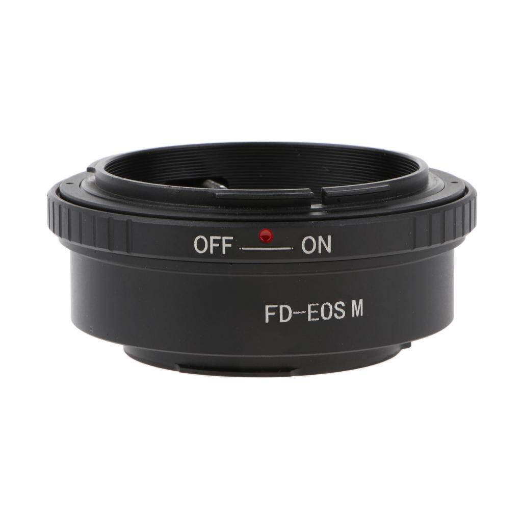 Miracle Shining Lens Adapter Ring for Canon FD to EOS-M M1 M2 M3 M10 Mirrorless Camera Body