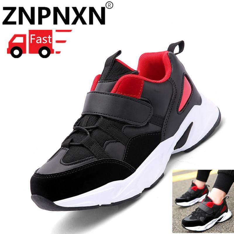 Znpnxn Sepatu Anak Anak Laki-laki Kasual Sepatu Olahraga Anak Laki-laki Kulit Fashion Gadis Sepatu Olahraga Anak Perempuan Sepatu Lari Girlssneakers ...
