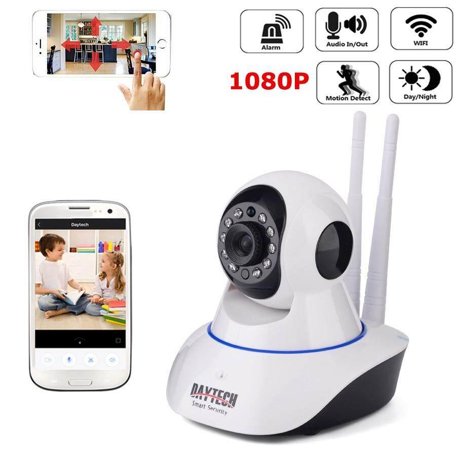 Daytech Kamera Ip 1080 P Kamera Nirkabel Hd Wifi Indoor Cctv Dua Arah Audio Kamera Malam Ir Cut Visi Yoosee Kontrol Telepon By Daytech Official Store.